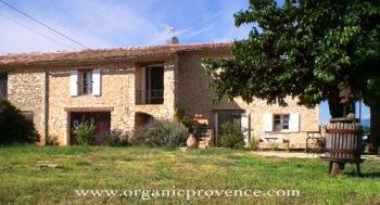 organic vegetarian B&B in Provence