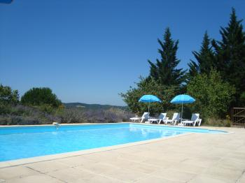 Les Lavandes gite and pool in hills nr Cahors