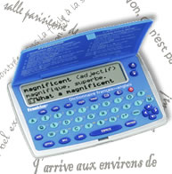 Franklin BFQ-450 French / English Dictionary