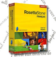 Rosetta Stone V3 French Level 1&2 Personal Edition - Mac/PC