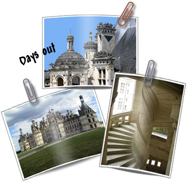 days out in France - Chateau de Chambord in the Loire Valley