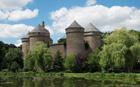Lassay-les-Chateaux in the Mayenne department
