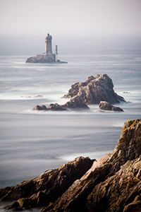 La pointe du raz in Finistere